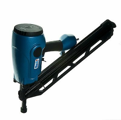 BeA D100-934C 100MM PAPER COLLATED STRIP NAILER WITH 50MM NAILS & 10M AIR HOSE