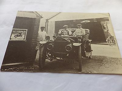 Postcard - '1909 Siddeley'