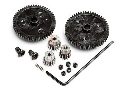 HPI Racing 105521 Spur Gear (2pcs) + Pinion Gear Set (3pcs) MINI RECON