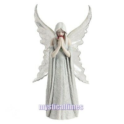New * Love Remains * Anne Stokes  Fairy Angel Figurine Statue By Nemesis Now