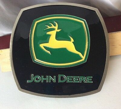 VINTAGE JOHN DEERE TRACTOR COMPANY TRAILER HITCH COVER Belt Buckle ?