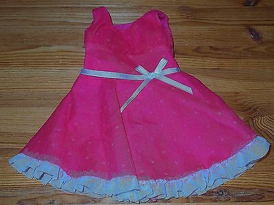 American Girl PINK HEART VALENTINES DAY PARTY DRESS Tulle & Lace