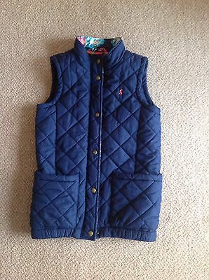 Joules Girls Quilted Gilet 11-12 Years