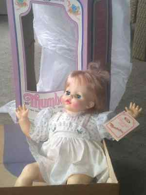 Vintage Thumbelina Doll, 20 Inch , Ideal  Toy Corp.