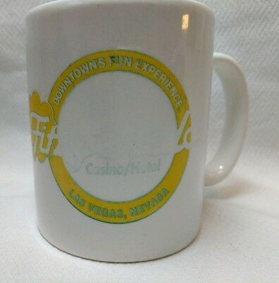Fitzgerald's Casino Hotel Coffee Mug Cup Las Vegas Faded