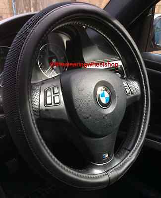 Mini Countryman Steering Wheel Cover Black Leather Look And Woven  Panel 5316S