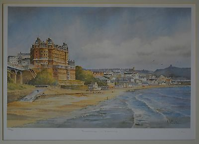 Scarborough framed original signed & numbered limited edition print by KW Burton