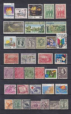 Australia (1) - Another Good Lot Of 36 Mostly Used Stamps - See Scan.