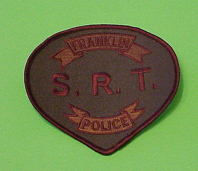 Franklin  Tennessee  Tn  ( S.r.t.  Special Reaction Team )  Police Patch