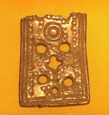 Roman cast Silver Decorative element From Chest Or Jewel Box
