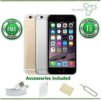 Apple iPhone 6 -16/64/128GB -Gold/Silver/Grey (Unlocked) - Grade B -GOOD CONDITI