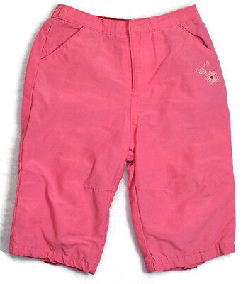 BABY GAP Girls Kids Clothes Pink Pants With Liner Sz 3-6 Months