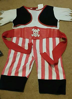 Baby Pirate Carnival Fancy Dress Costume Outfit 6-12mths