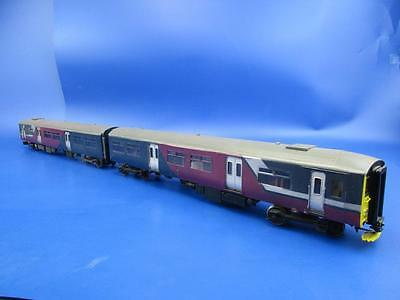 7mm FINESCALE O GAUGE KIT BUILT NORTHERN SPRINTER DMU DCC FITTED!