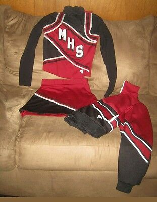 Authentic cheerleader outfit uniform costume small