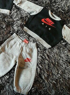 baby boy nike air tracksuit 6-9