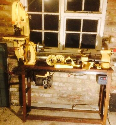 Myford ML 8 Wood turning Lathe With Band saw And  with Accessories *DELIVERY*