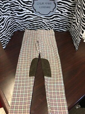 Toddler Little Girls Size 7/8 Leggings With Suede