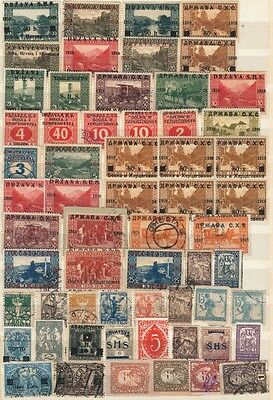 Collection Of Early Yugoslavia Good Used