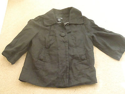 Girls H&M Black coat 4 years  Nice clean condition