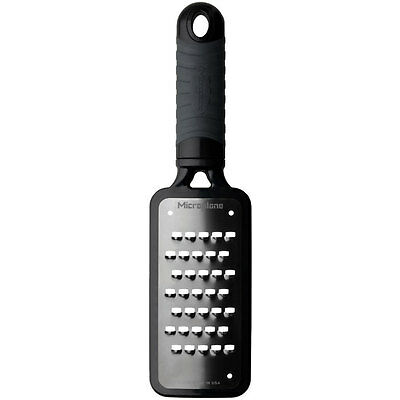 Microplane Home Series Grater Extra Coarse Black