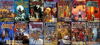15 audiobooks - The Wheel of Time Complete Series by Robert Jordan { Mp3 DVD} AD