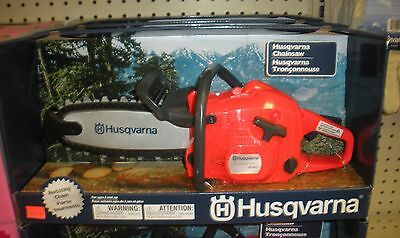 Husqvarna Toy Chainsaw - Motion and Sound!