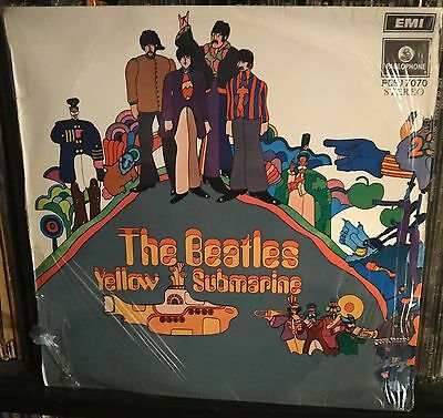 The Beatles-Yellow Submarine Lp 1969 South Africa Issue Green label