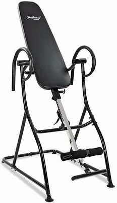 Fitness Inversion Table Exercise Bench Home Gym Gravity Back Trainer Pain Relief