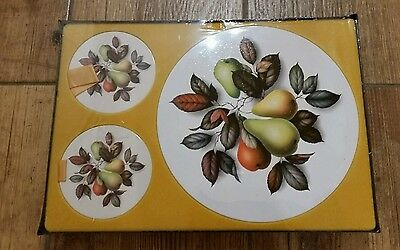 1974 Table Mats - New in Box