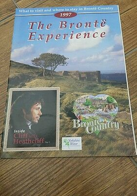 Magazine about 'The Bronte Experience' Featuring Cliff Richard as Heathcliff