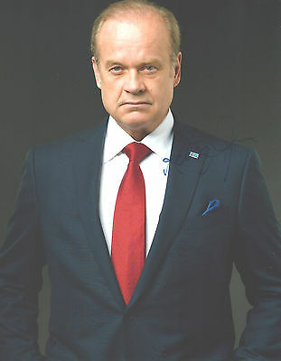 """Hand-Signed Photograph of Kelsey Grammer 10""""x8"""" with COA"""
