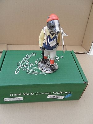 Beswick  Hiker Badger From The Country Folk