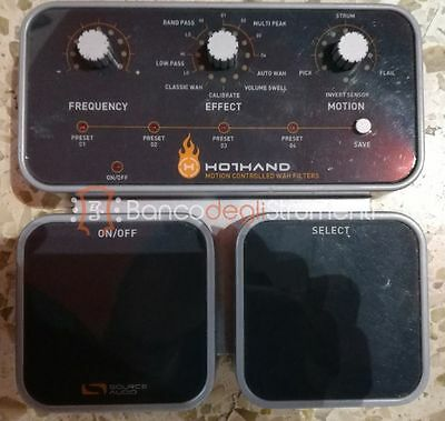 Hothand Wah Filter Wireless Pedale Wah per chitarra