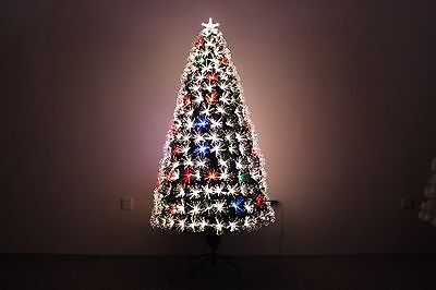 3ft Fiber Optic Tabletop Christmas Tree With Multicolor LED light