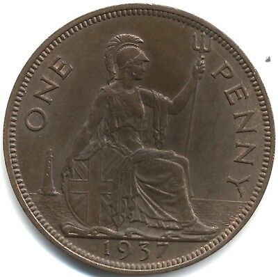 1937 George VI One Penny***Collectors***