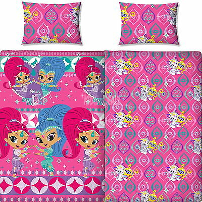 Shimmer and Shine Zahramay Single Duvet Cover Bed Set