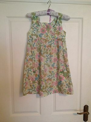 New Look Girls Flowery Multi Coloured Pinafore Style Long Top Age 11. Gorgeous