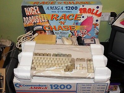 Commodore Amiga 1200 RACE 'N' CHASE Edition BOXED