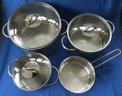 Fissler Stainless Steel 18-10 Cooking Pots Pans Casserole ~ Made in Germany