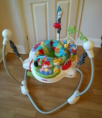 Fisher price jumperoo discover n grow bouncer baby toy activity jumping