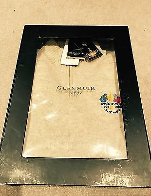 Celtic Manor Ryder Cup 2010 GLENMUIR Lambswool Sweater In Presentation Box