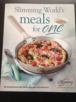 Slimming world Meals for one New Recipe Book 2016