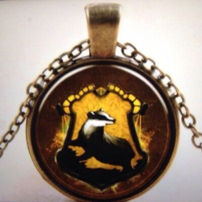 BADGER Brass Chain Pendant Necklace.