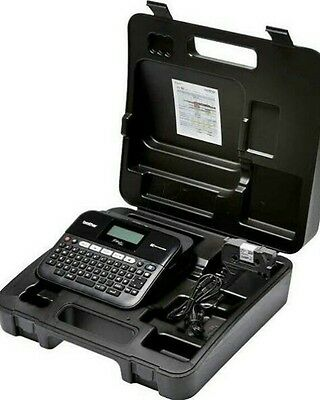 Brother P-Touch PT-D600VP Professional Label Printer.New with Case
