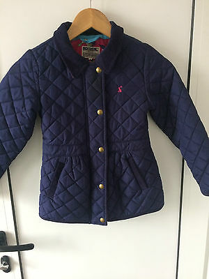Joules Junior Jinty Girls Quilted Jacket 7Y 122cm