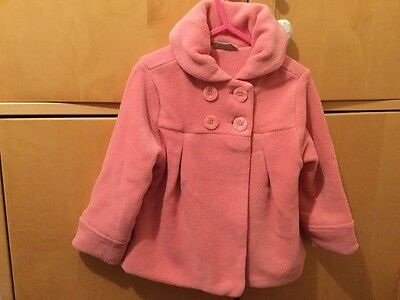 Next Age 2-3 Girls Pink Fleece Jacket
