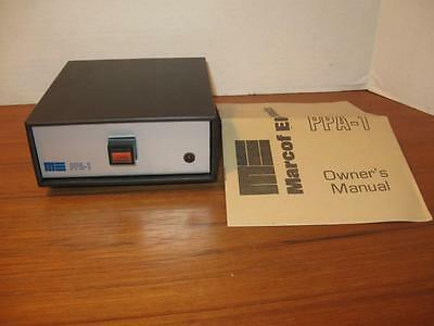 NOS  Marcof Electronics PPA-1 Moving Coil MC Step-Up Phono Preamplifier