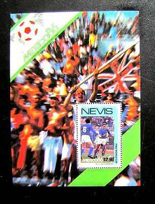 492 World Cup Italy Vs West Germany Mnh Og 1986 (See Note)