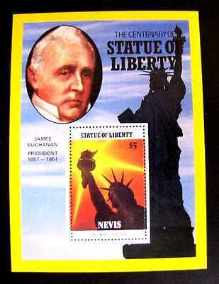 520 Statue Of Liberty - Blazing Sun Mnh Og 1986 (See Note)